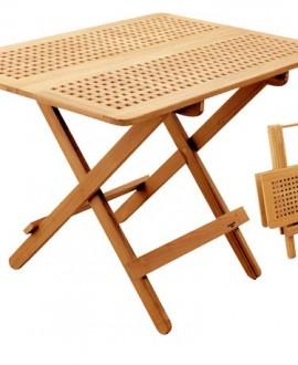 Tavolo in massello di teak art.60125