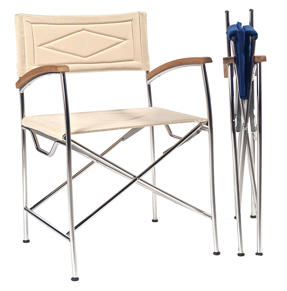 stainless steel folding chair atep